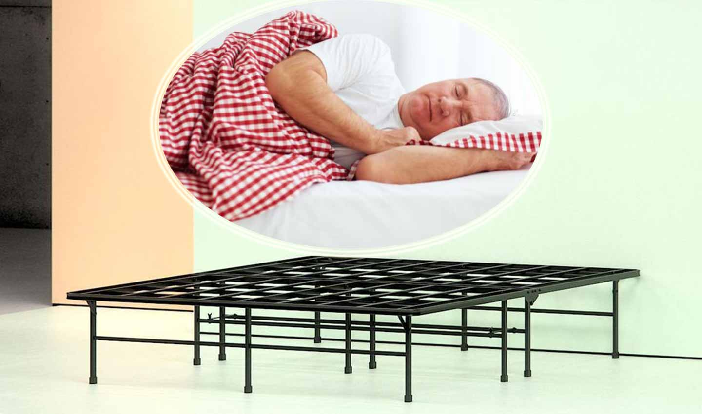 Tempurpedic Vs Sleep Number >> Top Rated 8 Best Bed Frames For Heavy Person Reviews 2020