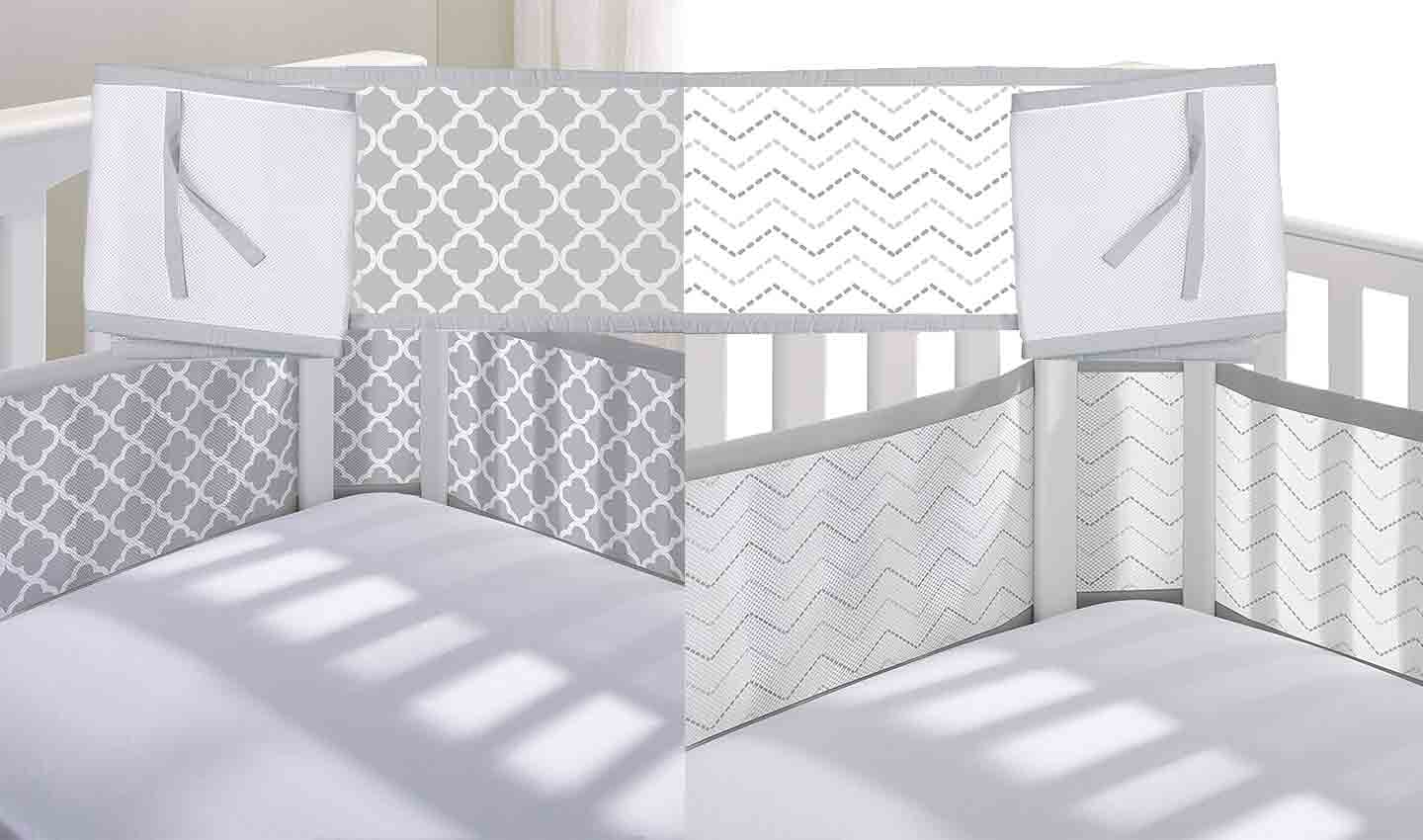 The 7 Best Breathable Crib Bumper Alternatives To Buy In 2019