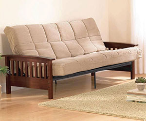 Better Homes And Gardens (BHG) Solid Wood Futon