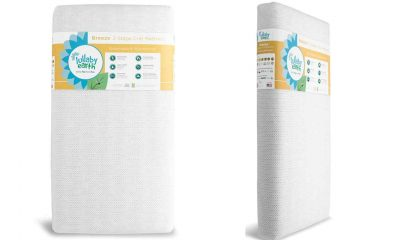 Lullaby Earth Breeze 2 Stage Crib Mattress 4