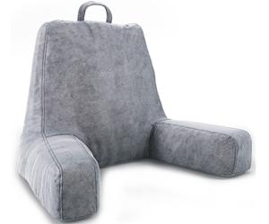 ZIRAKI Large Plush Shredded Foam Reading And TV Relax Pillow