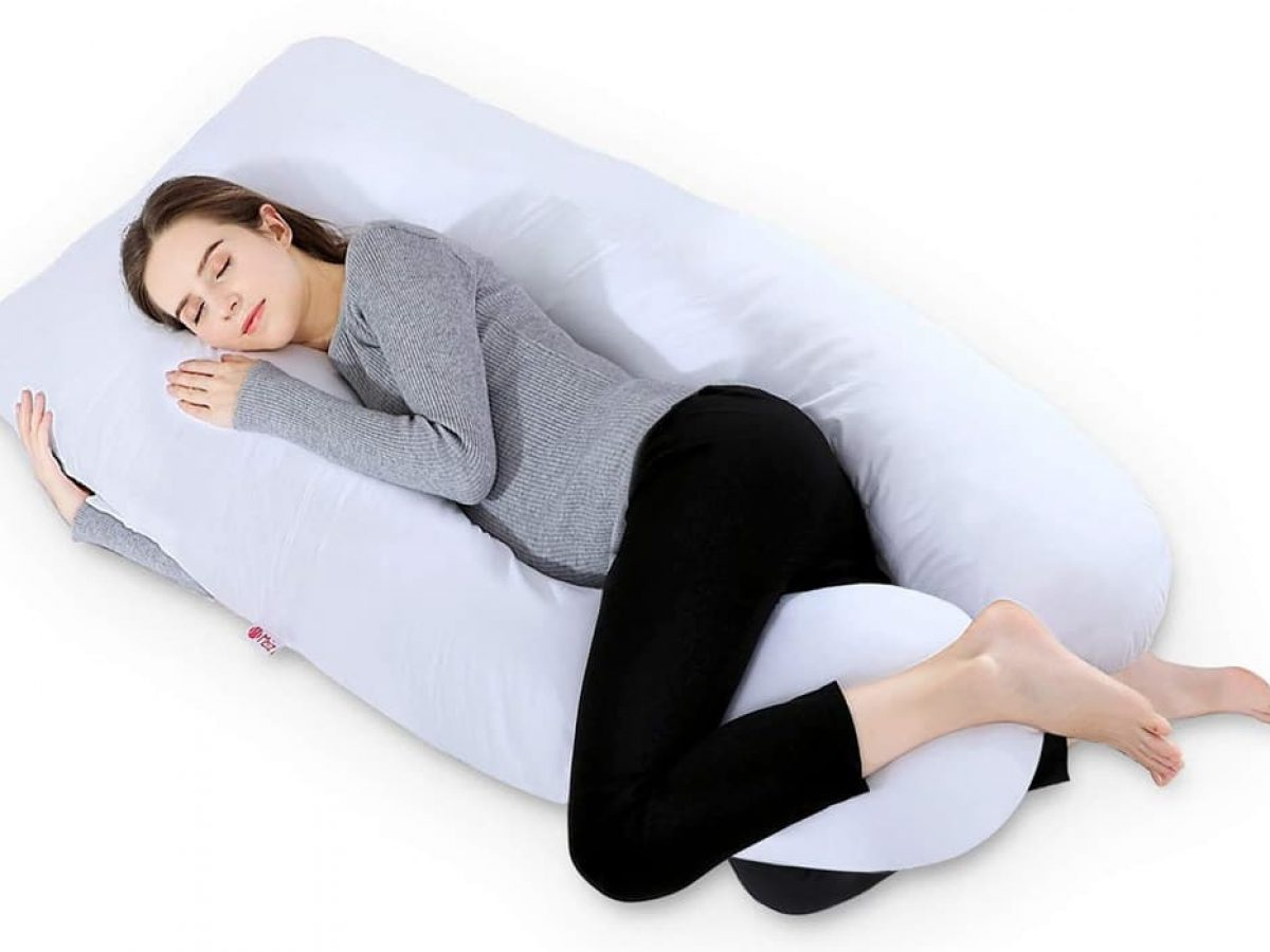 SUPRIQLO Full Body Pregnancy Pillow Soft U-Shaped Maternity Pillow Cushion Pillows