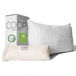 coop premium adjustable loft pillow