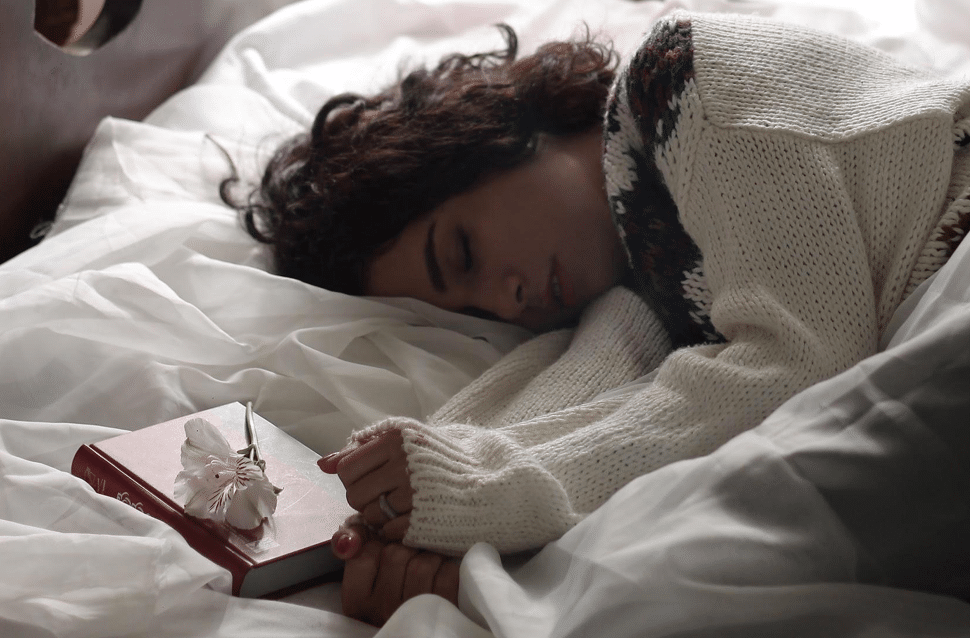 Falling Asleep with a Book