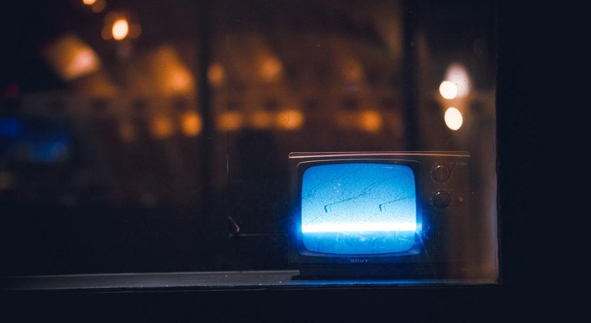 Blue Light on TV